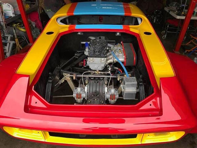 Born to race!  1973 Lotus in its Daytona livery approaching completion. . . . . #datytona #lotus #vintage #racing #car #vintage #studiojantzen #madeinlosangeles #changesething #happyfriday #shiftinggears #borntorace