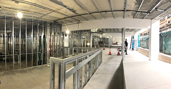 In Construction - Parking Structure 5, Santa Monica!  A Hard-Hat Friday to you! . . . . #architecture #archiplay #building #construction #access #publicrestrooms #publicspaces #design #parking #structure #santamonica #studiojantzen