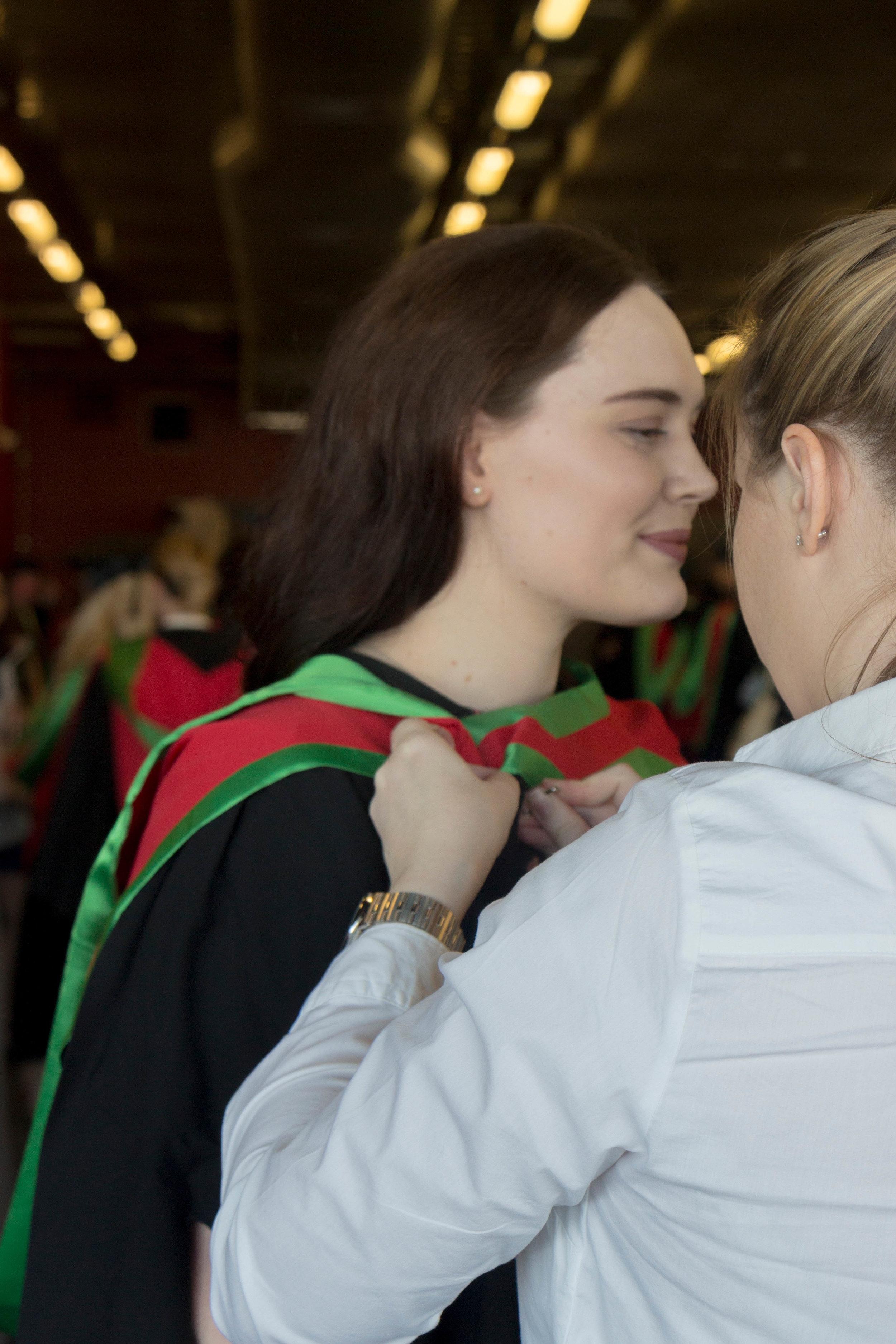 Liz Graduates