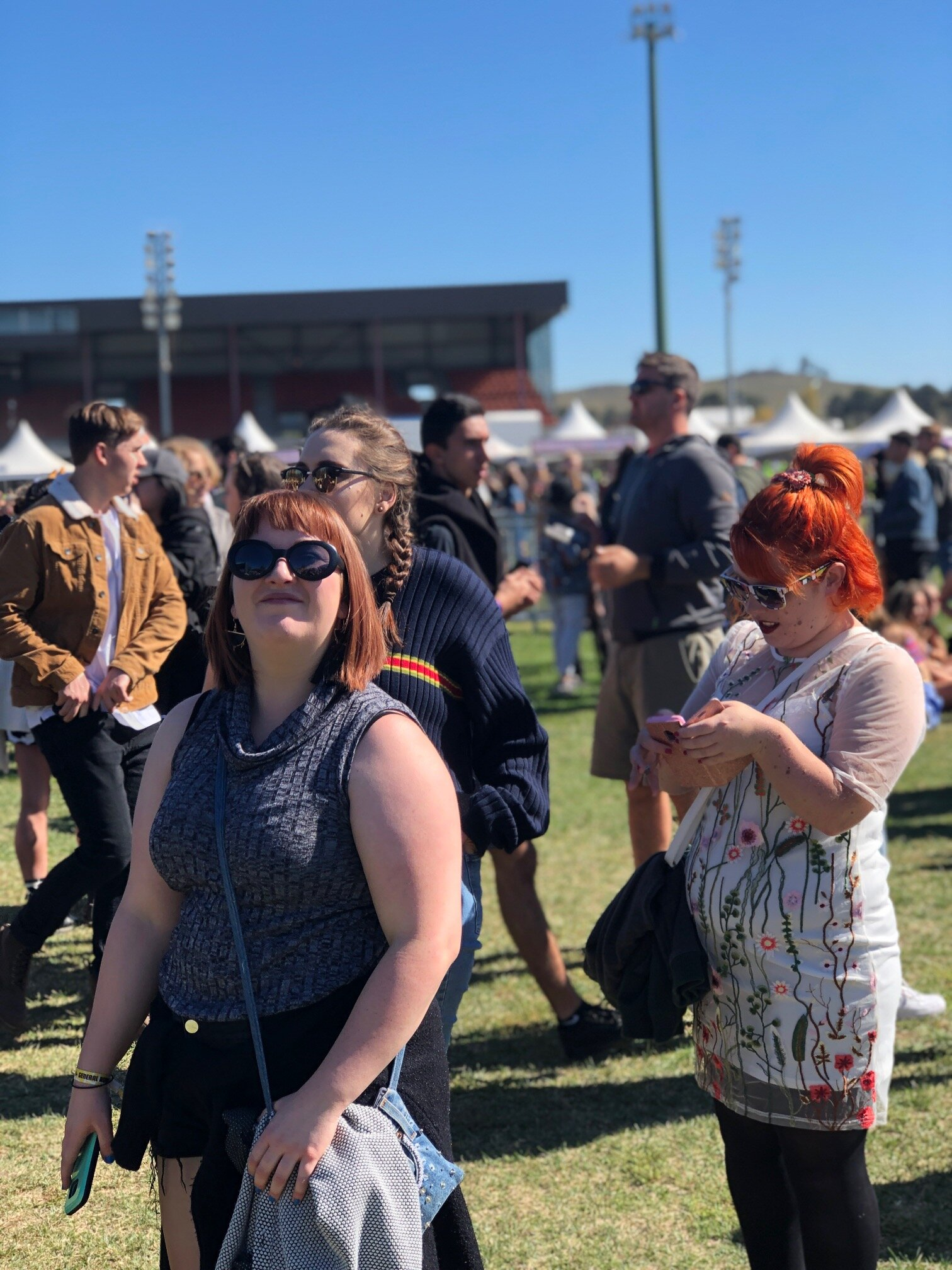 We didn't make it to the Arctic Monkeys, but we did make it to Groovin' the Moo