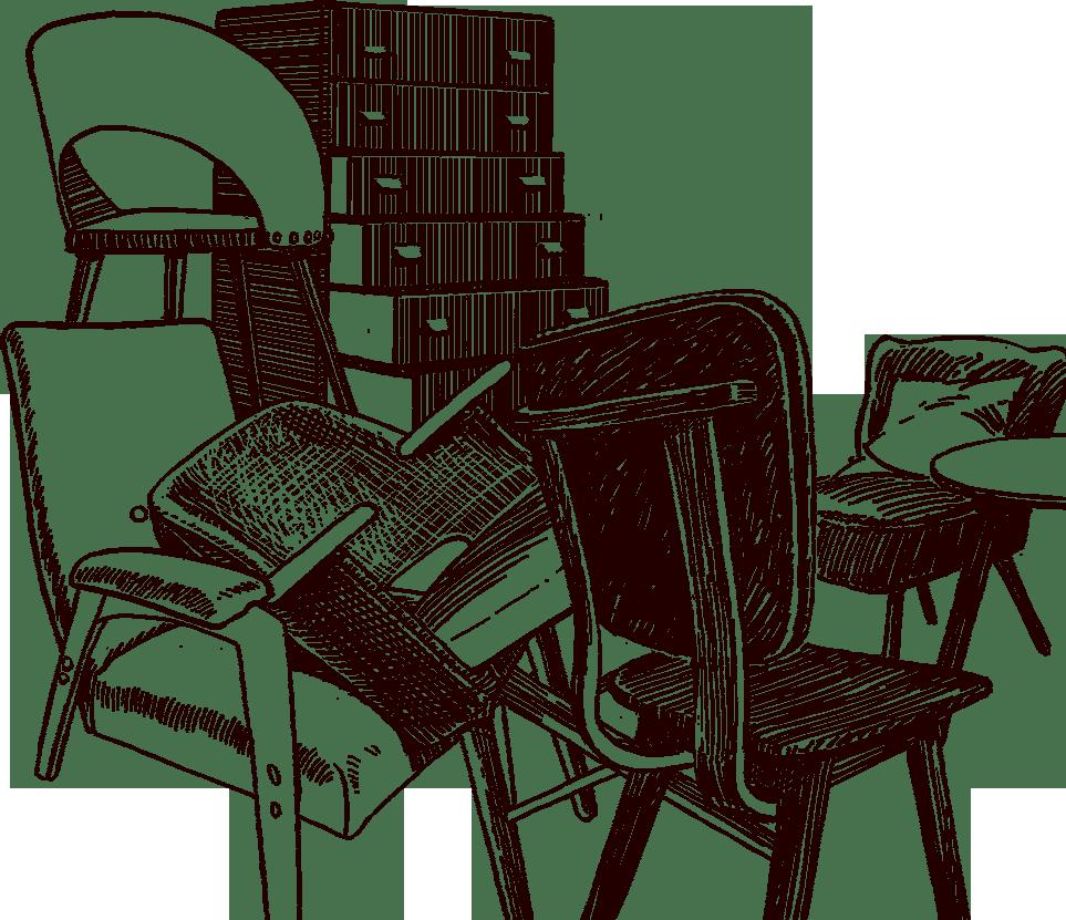 dumped furniture