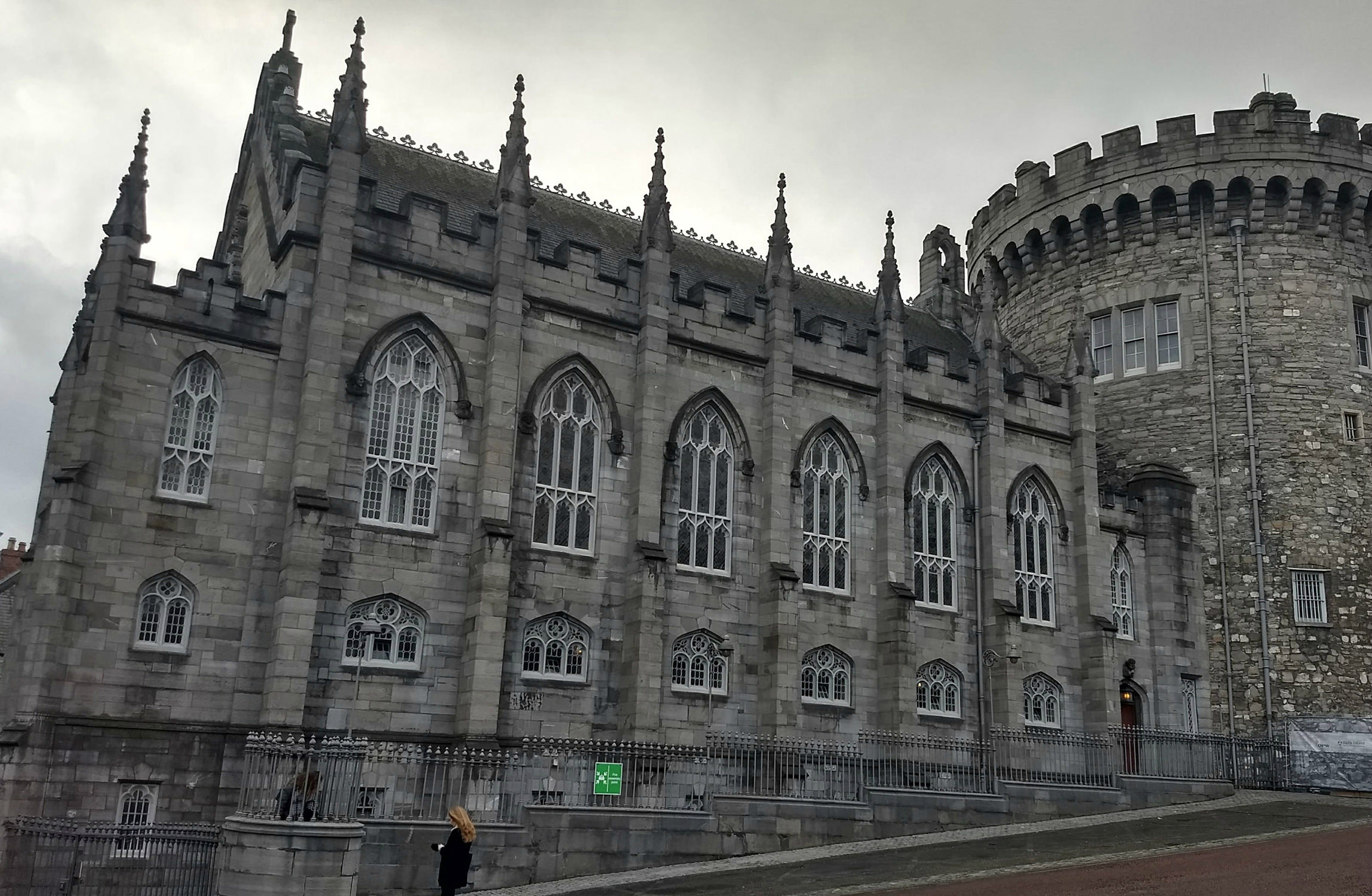 Head to Dublin Castle to see a Castle that looks like a Palace.