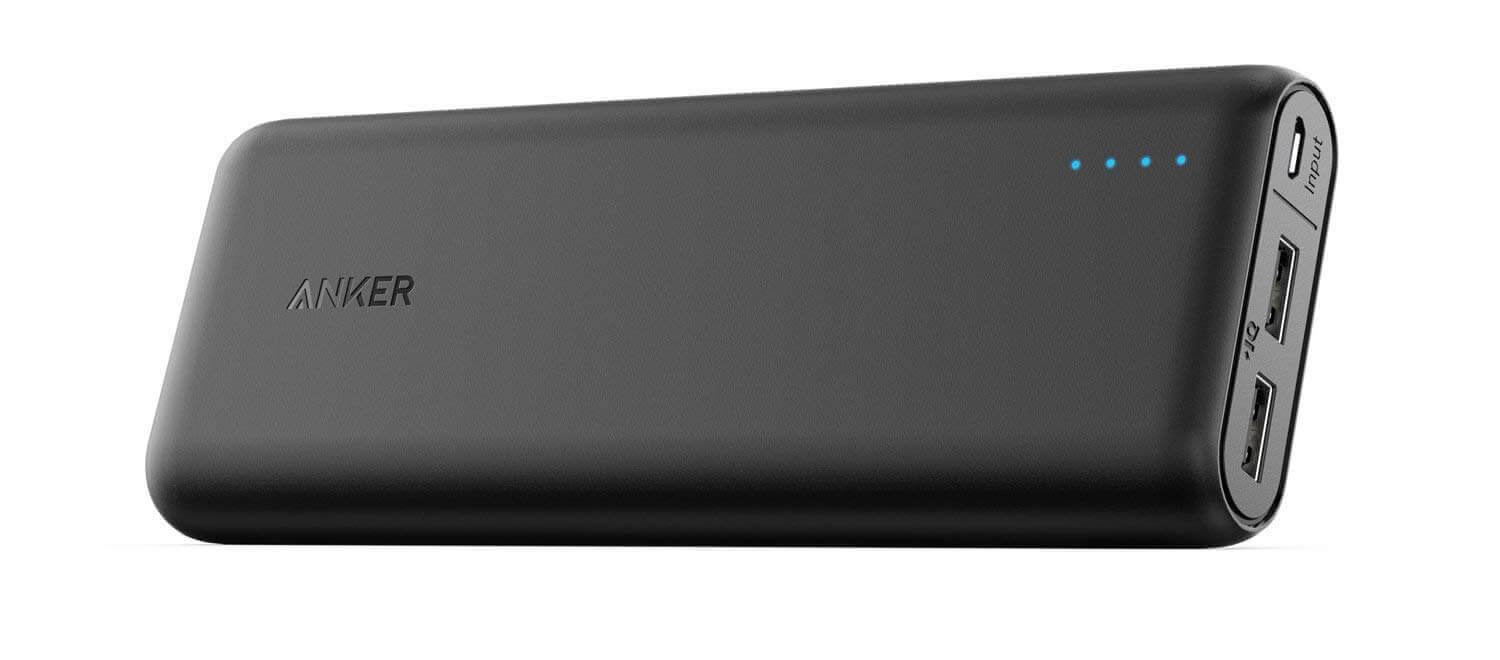 Anker PowerCore 15600 mAh Super High Capacity Battery Pack Power Bank.