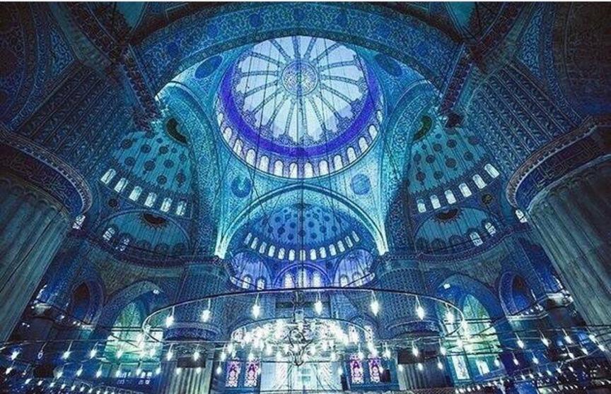 Ins网红必打卡蓝色清真寺:伊斯坦布尔拍照圣地