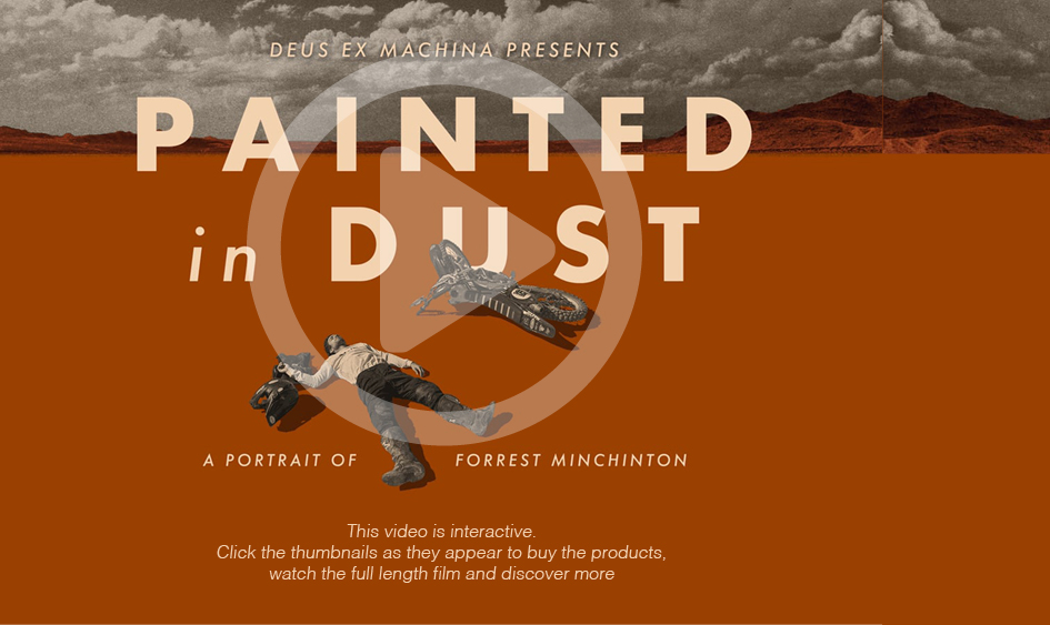 """Click on the image above to watch the """"Painted in Dust"""" video by Deus Ex Machina"""