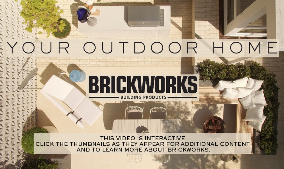 Click on the image above to watch the Brickworks branded content video featuring shoppable prducts featured within the video