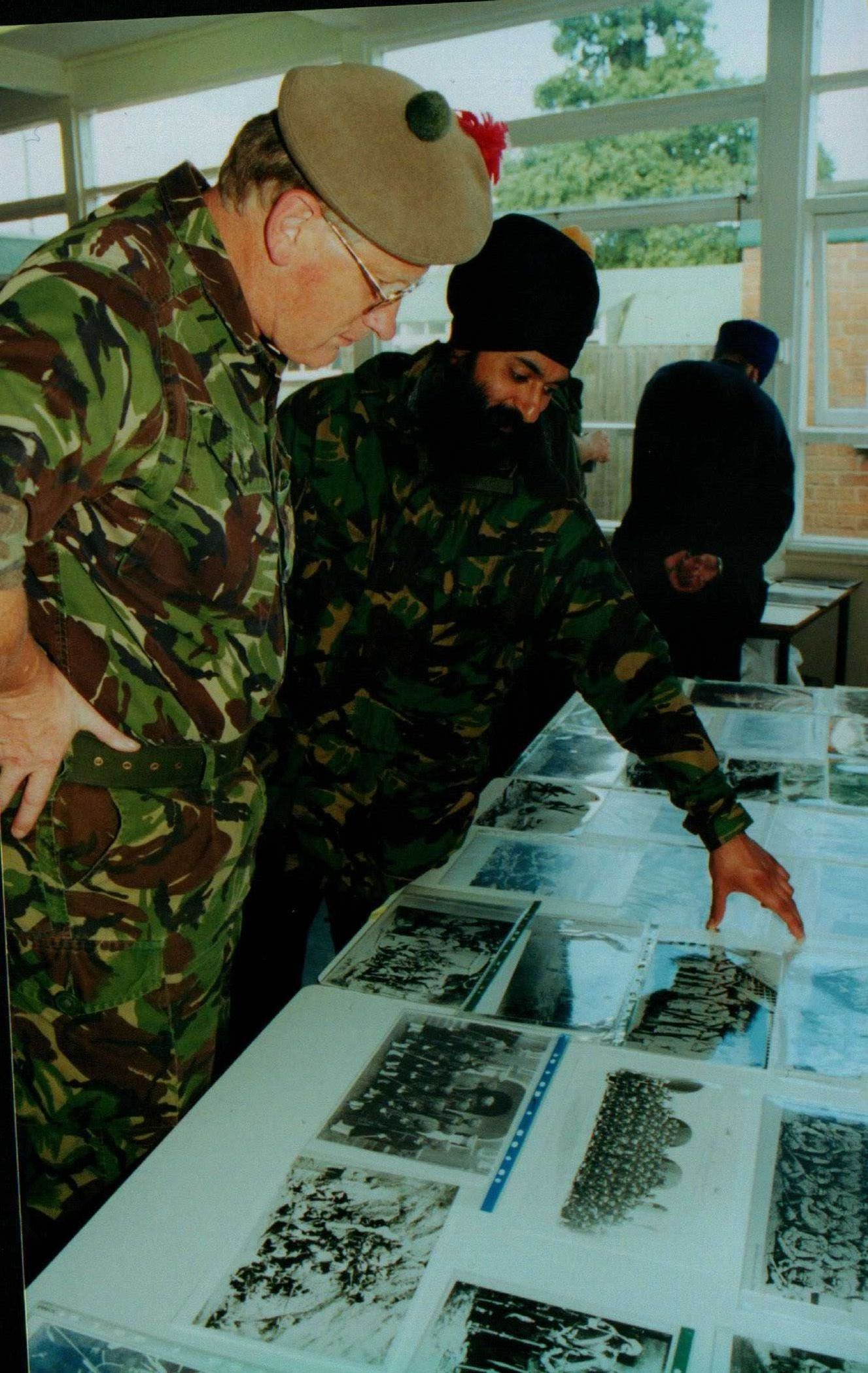 Kernal in his element - working with the British Army in exploring Anglo-Sikh history