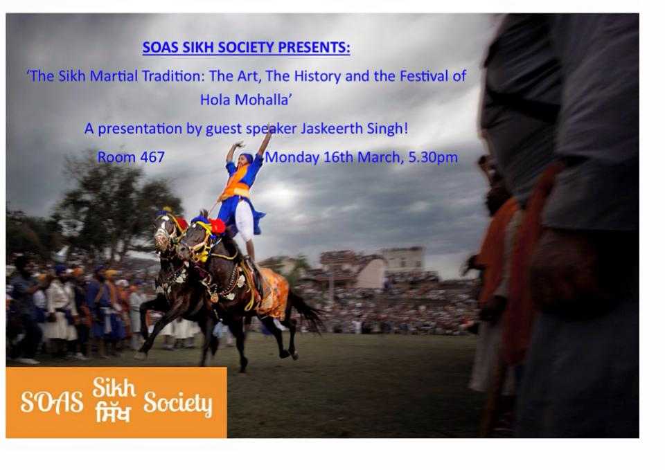 SOAS Sikh Soc Martial Tradition EVent poster.jpg