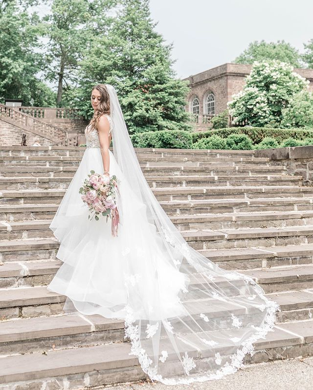The steps at @tylergardenweddings are so magical ✨ #philadelphiaweddingphotographer #phillybride #brides #buckscountyweddingphotographer #buckscountybride #tylergardenswedding #tylergardens #bridesmaids #weddingphotography #pinkbridesmaidsdresses #blushbridesmaidsdresses #blushbridesmaids #blushwedding #weddingflowers #bridalbouquet #bridesmaidsbouquet #floralbridesmaids #philadelphiaweddingmagazine #hayleypaigebride #hayleypaige #kleinfieldbridal #hayleypaigedress #cathedralveil