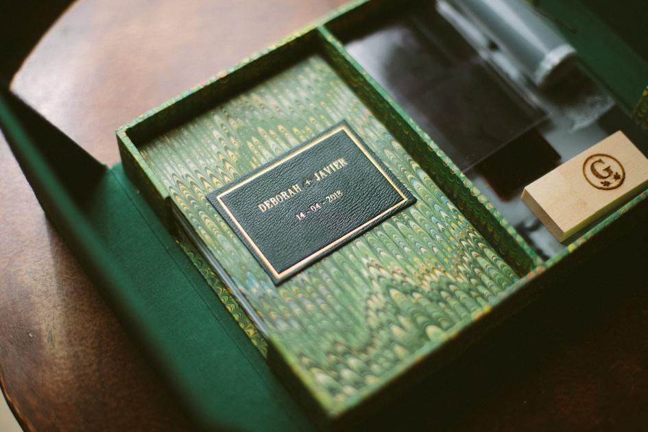 Album de boda, Caja fotos y pen drive
