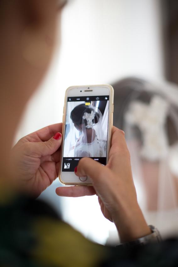fotografía de móvil