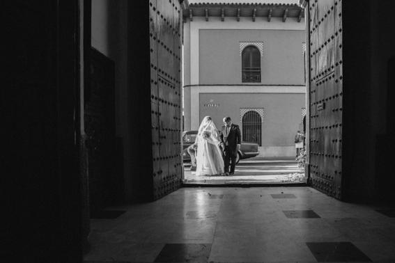 Novia y padrino de boda