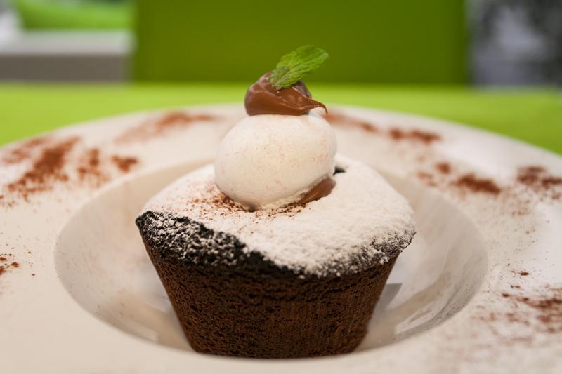 Tortino fondente - al cioccolato nero di Callebaut