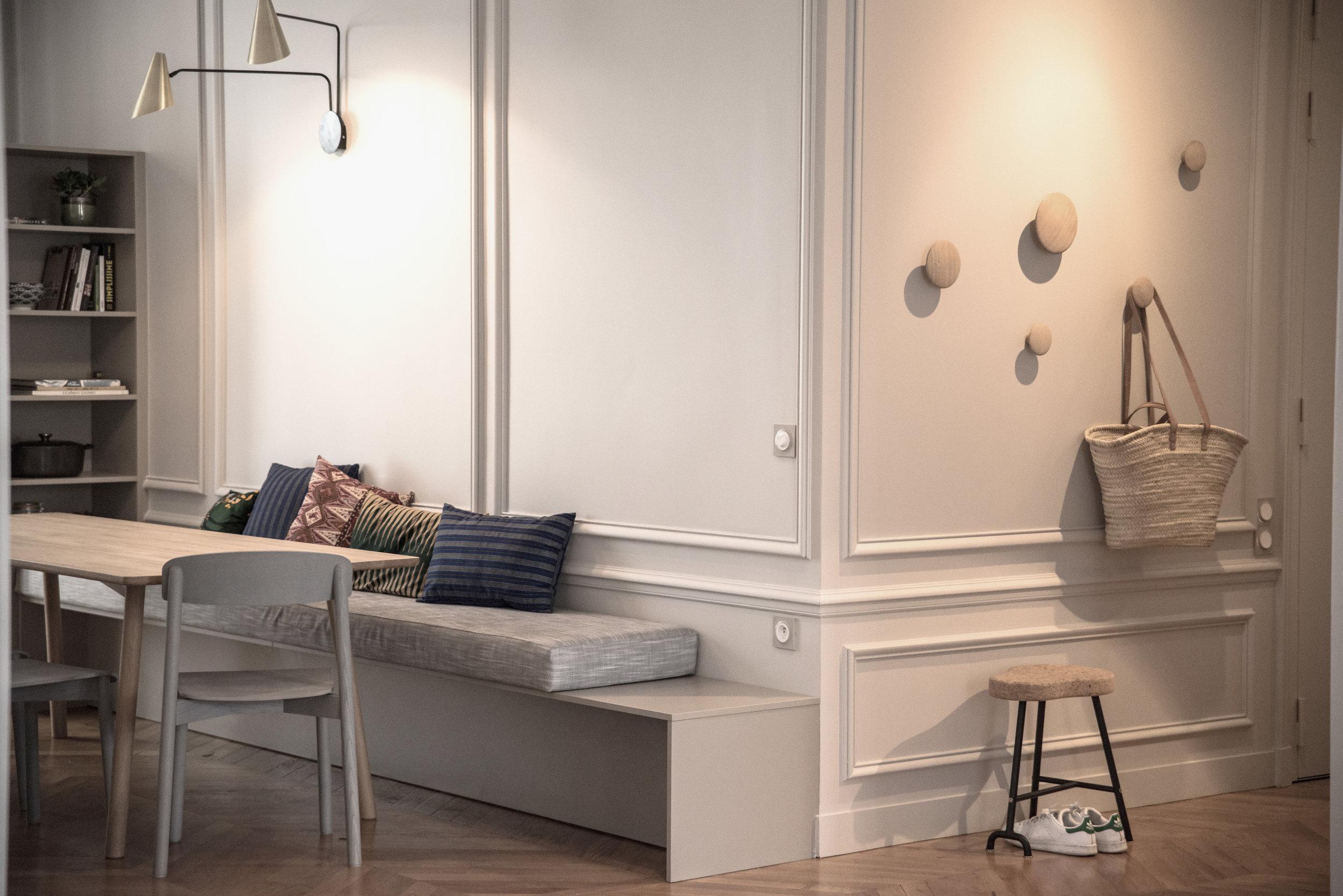 Chairwood & Terre Grise - Agence d'architecture d'intérieur, depuis 10 ans, les teintes, les matières, les volumes et les lumières ornent l'amitié de Manon et Amélie.