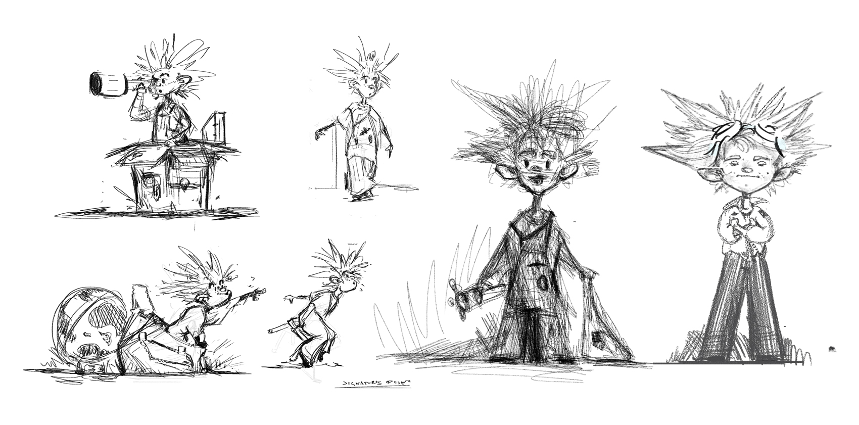 Acting sketches & iteration.