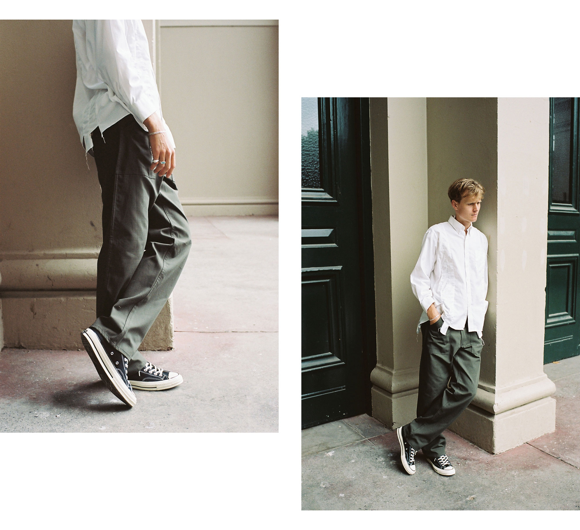 Stan Ray USA December Editorial Loose Fatigue Olive Ripstop