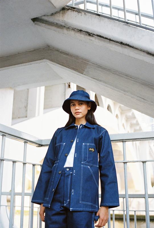Stan Ray Indigo Shop Jacket Painter Pant Daisy Mae