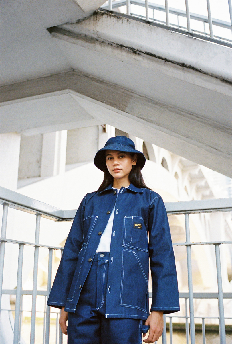 Shop Jacket - Indigo Denim