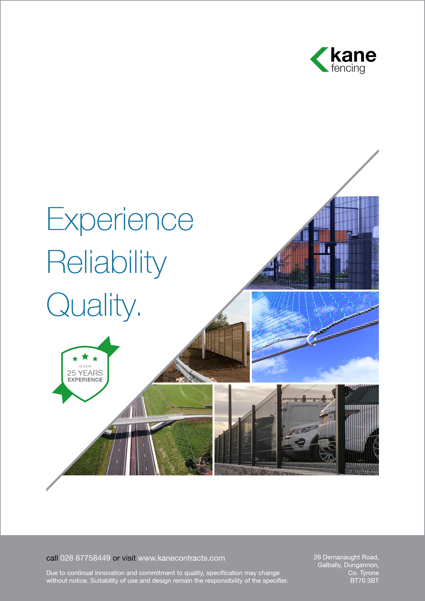Kane Fencing Product Brochure