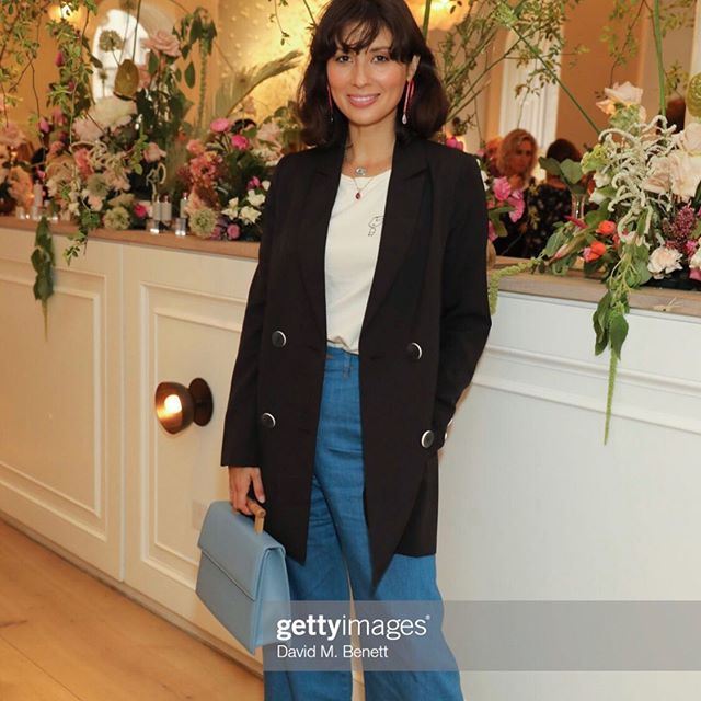 Gorgeous @jasminehemsley with her Aura riviera bag 💗✨