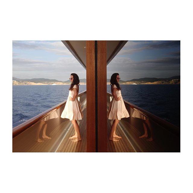 Reflecting 🌊✨ #camilla #dress