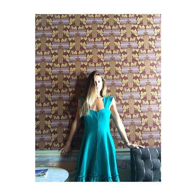 Margherita looking stunning in #camilla dress 👗💚
