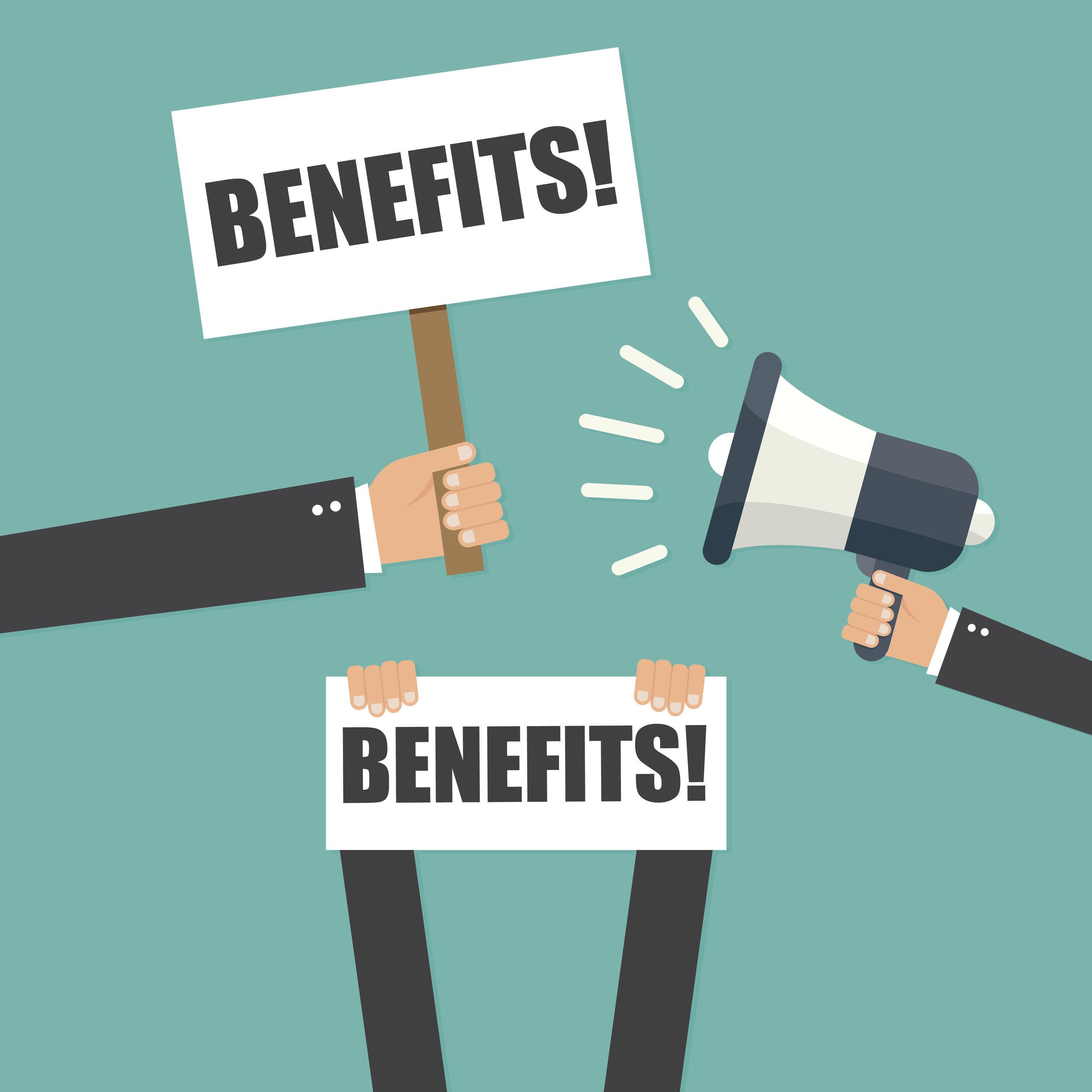 BENEFITS ADVICE -