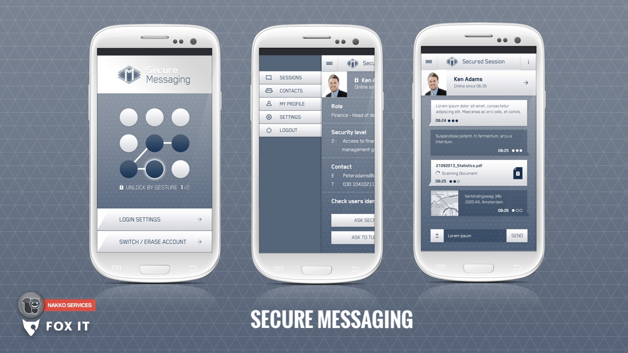 Secure Messaging App