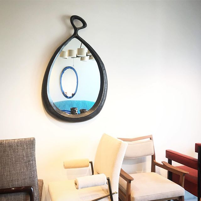 """You can customize! This is the kita mirror at 28"""" x 45"""" - you can see in person @studiovandenakker in @danddbuilding"""