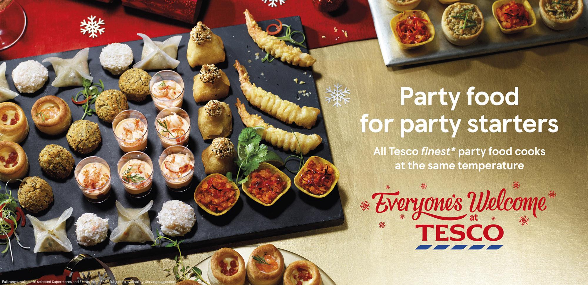 Tesco Christmas Campaign 2017 Tara Fisher Food