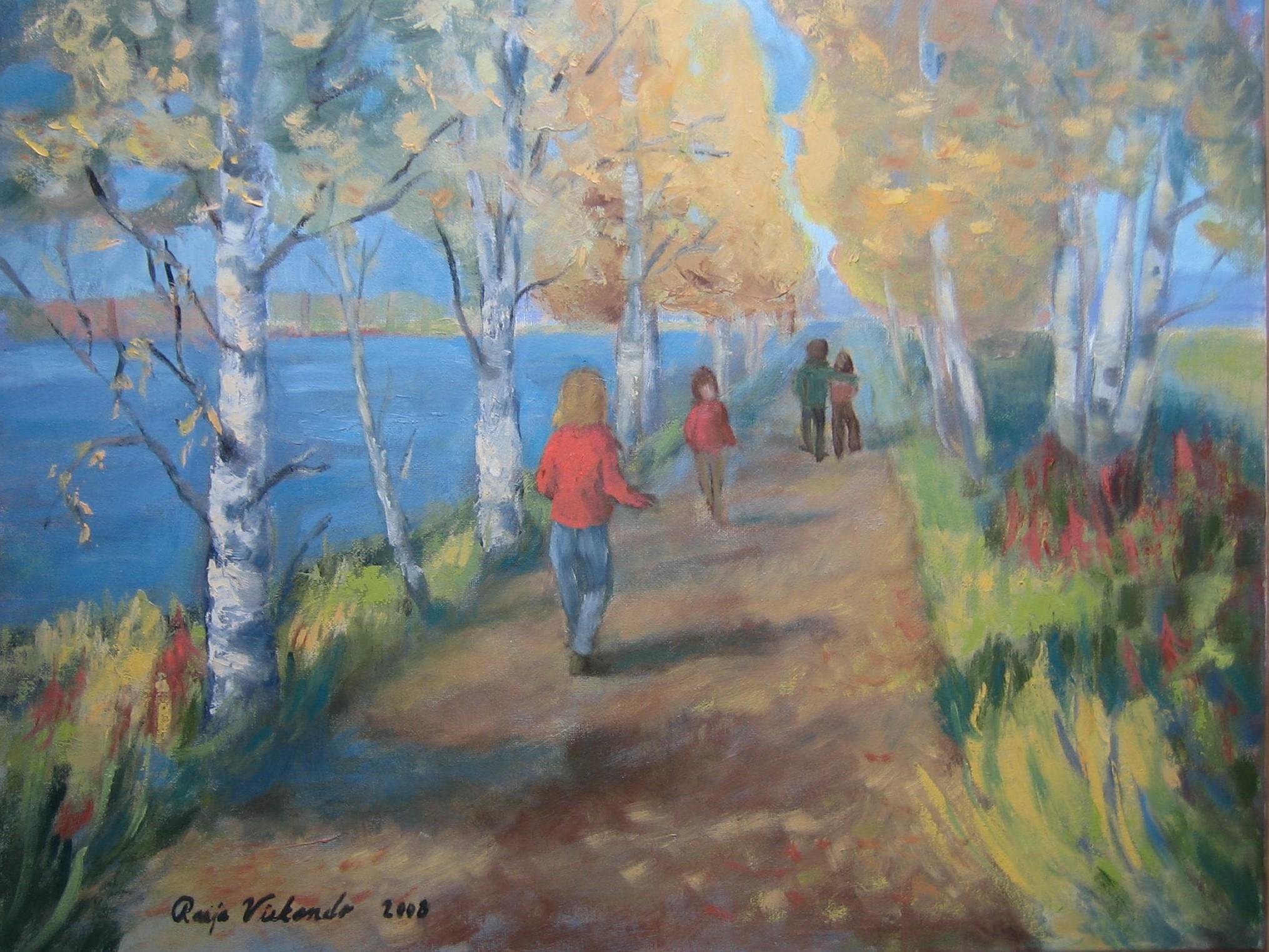 Raija Viekonelo: Iloinen päiväkävely, 2008