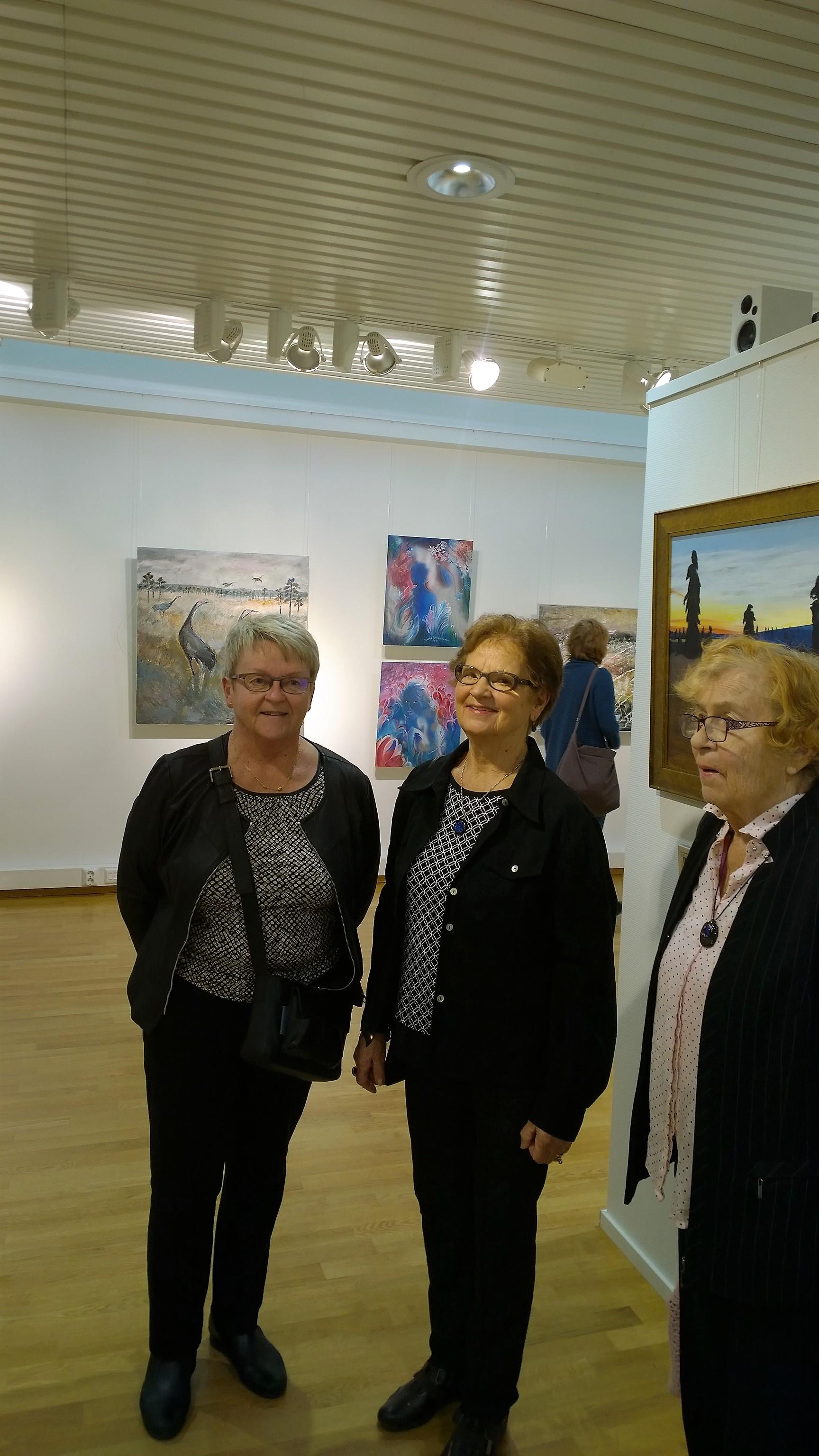 Helena Aula, Helena Rapakko ja Rauha Viiri