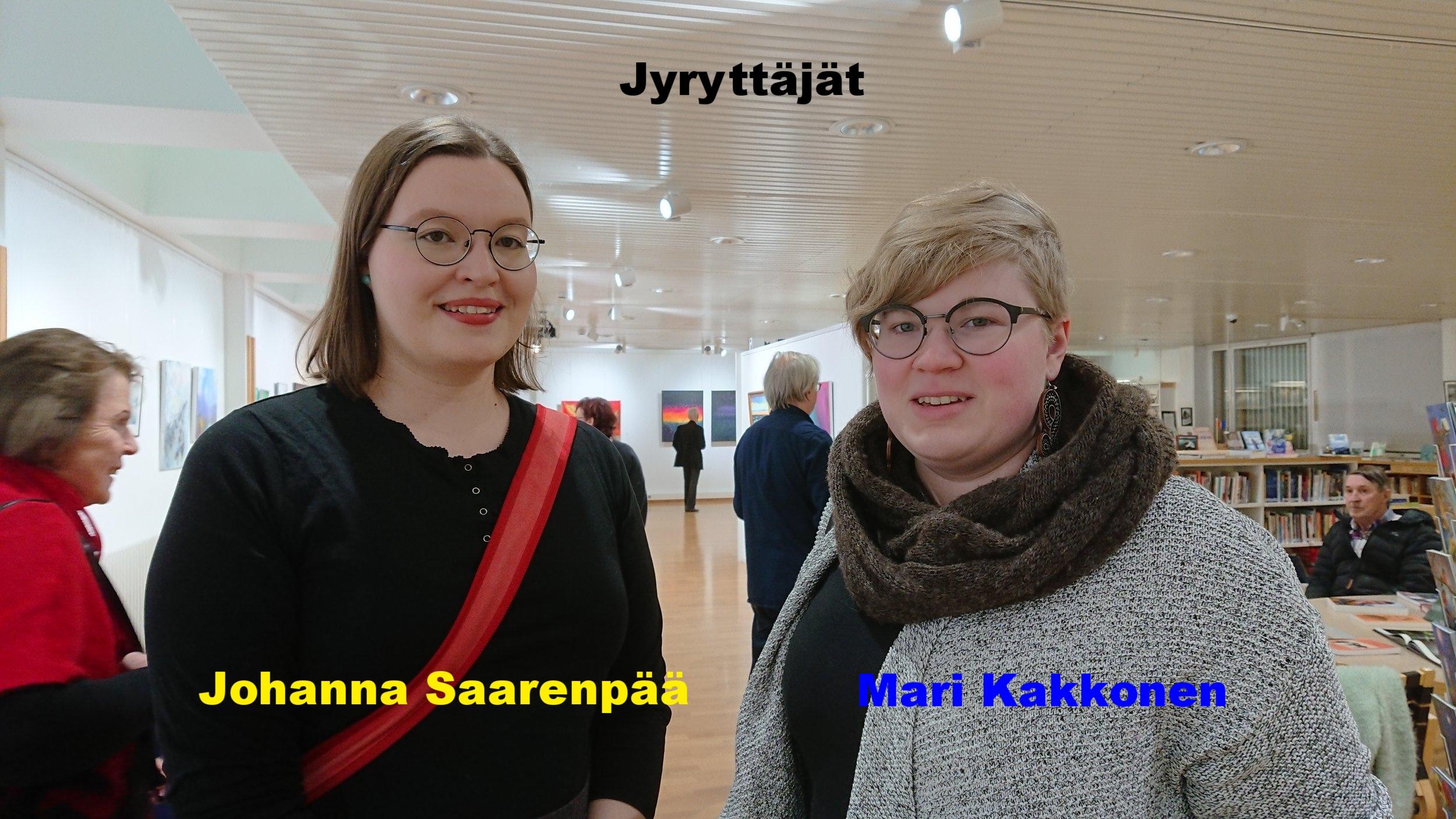 Johanna Saarenpää, Mari Kakkonen.JPG