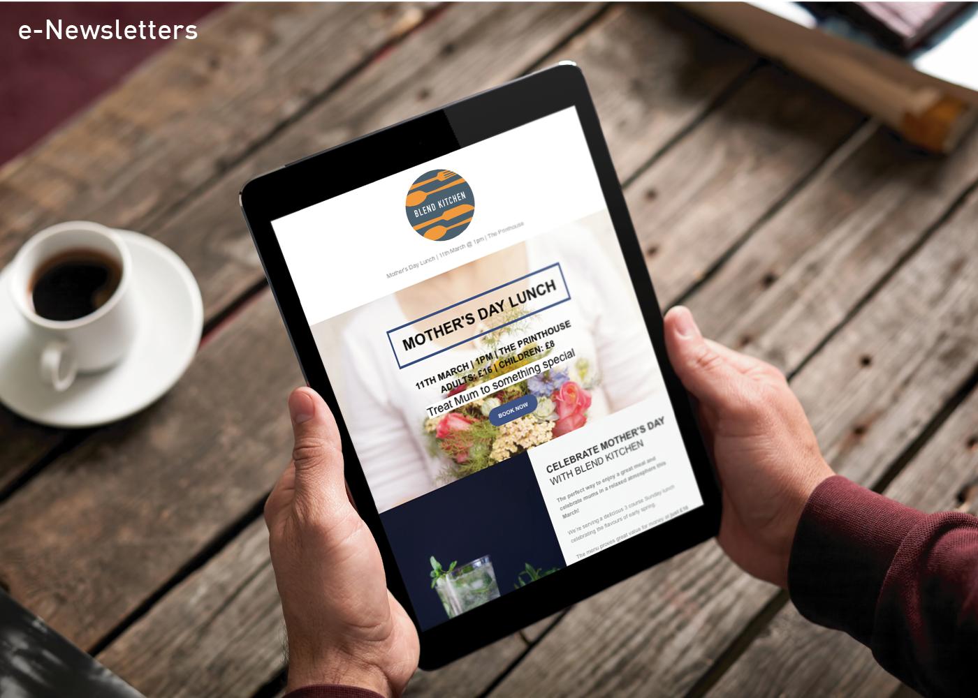 blend-kitchen-portfolio-newsletter-branding-nifty-fox-creative-sheffield
