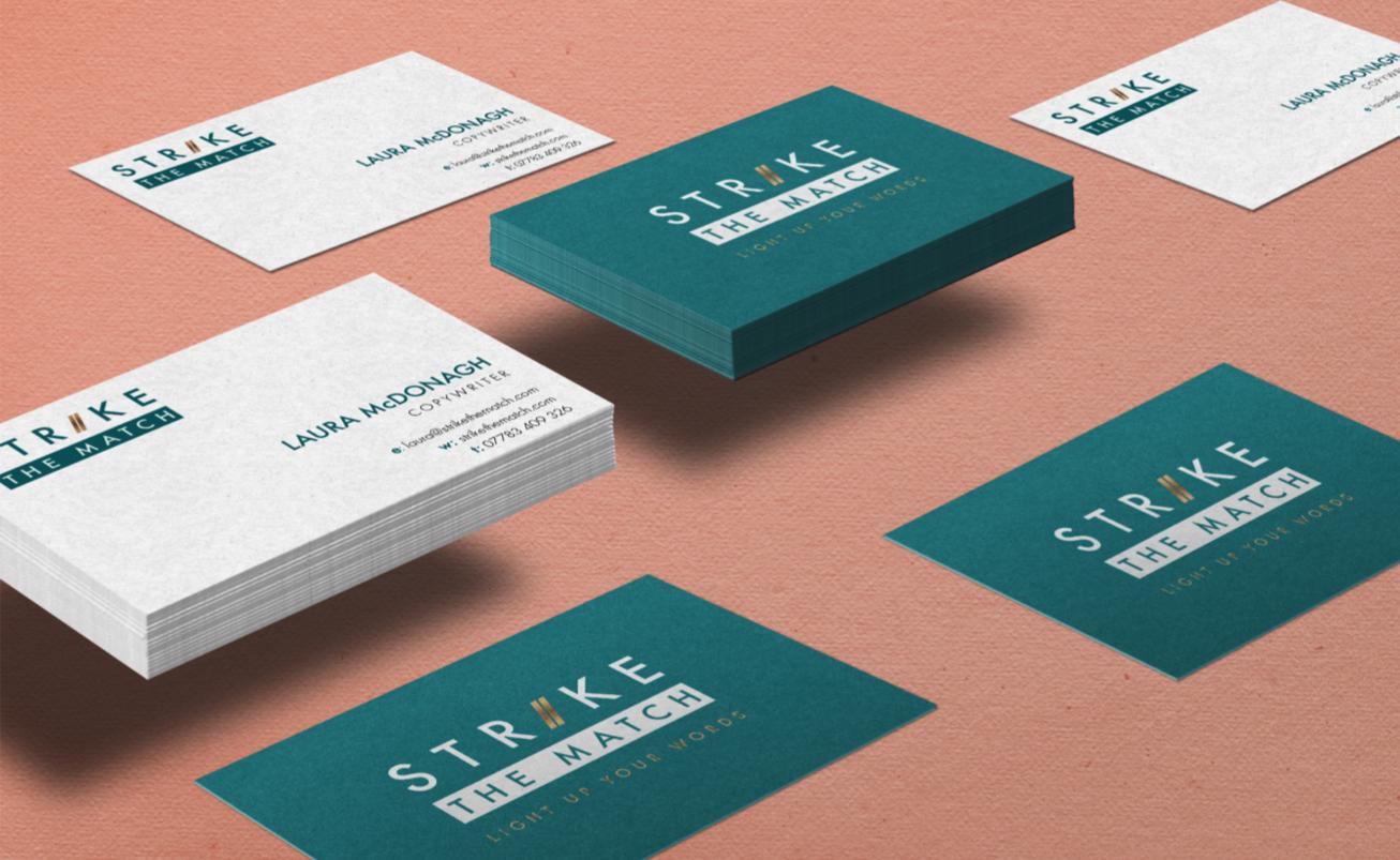 strike-the-match-portfolio-businesscards-branding-nifty-fox-creative-sheffield