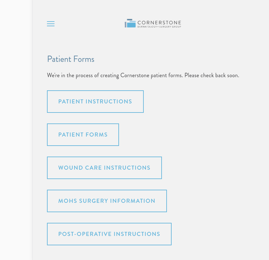 Cornerstone_PatientForms