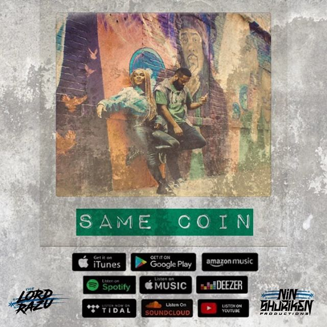 "New Single.....""Same Coin "" feat. @ra.e.chelle - Out now! Link in bio!✌🏾🎵 . . . . #thelordrazu  #music #video #musiclove #newmusic #nowplaying #radio #live #apple #life #love #hiphop #artist #musicartist #music #musician #musicproducer #musicvideo #musicman #musicismylife #musicianlife #musicmonday #musicstudio #soundcloud #podcast #spotify #applemusic #tidal #musicstreaming #itunes"
