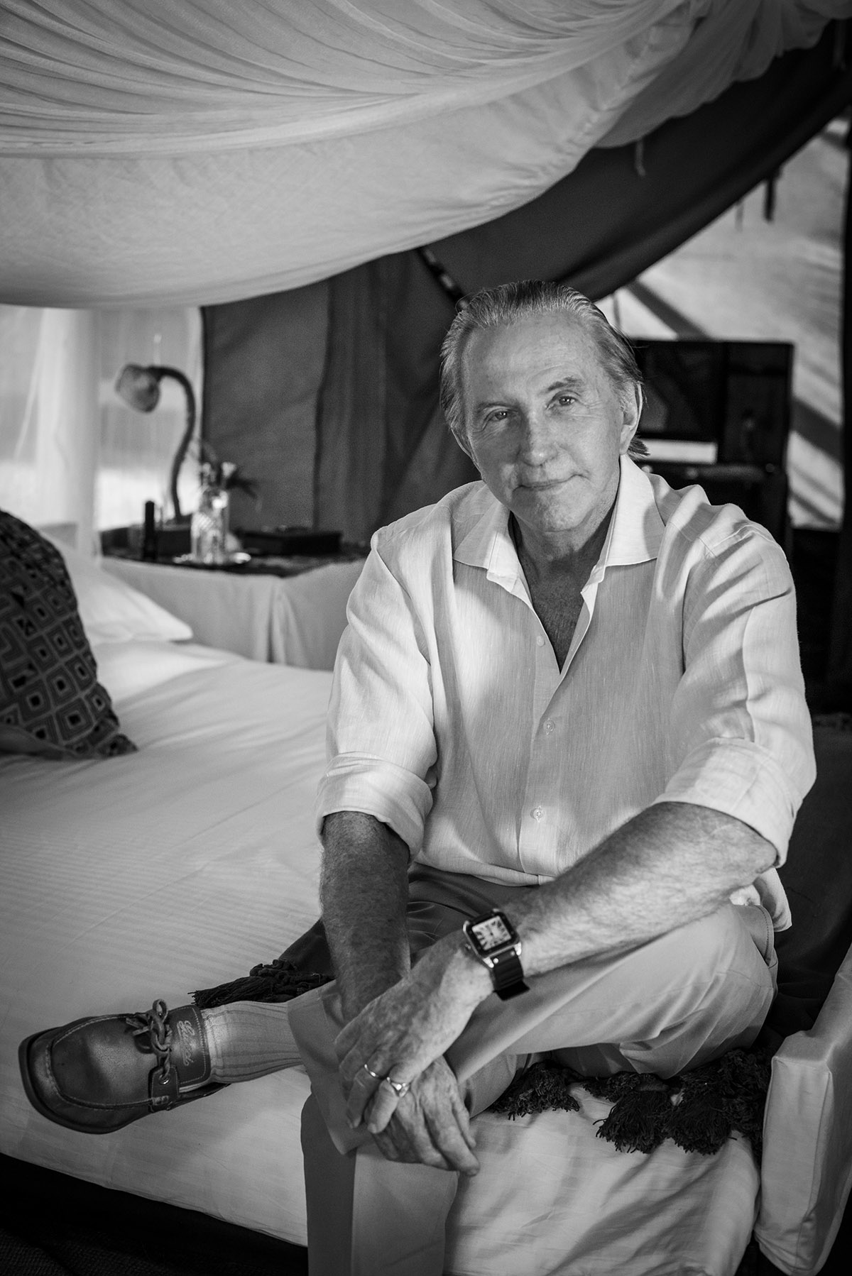 GEOFFREY KENT, FOUNDER OF ABERCROMBIE & KENT
