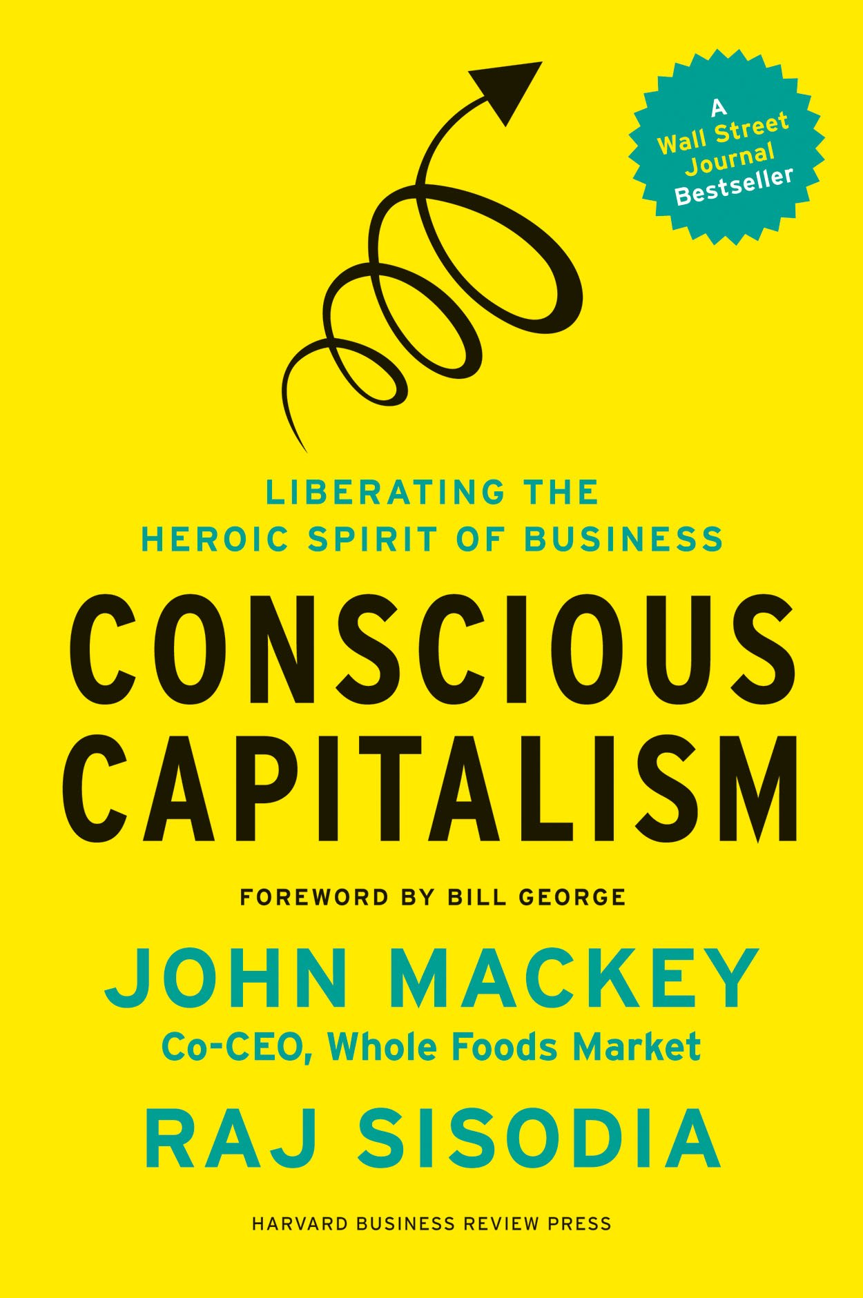 Front cover of Conscious Capitalism.