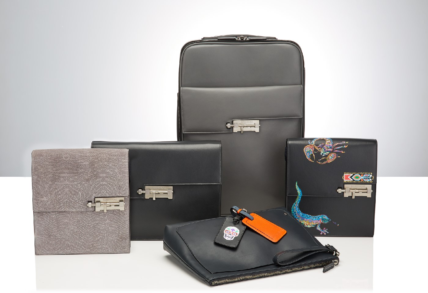 Gladstone London: premium leather accessory brand, targeted at fashionable urban business gentlemen