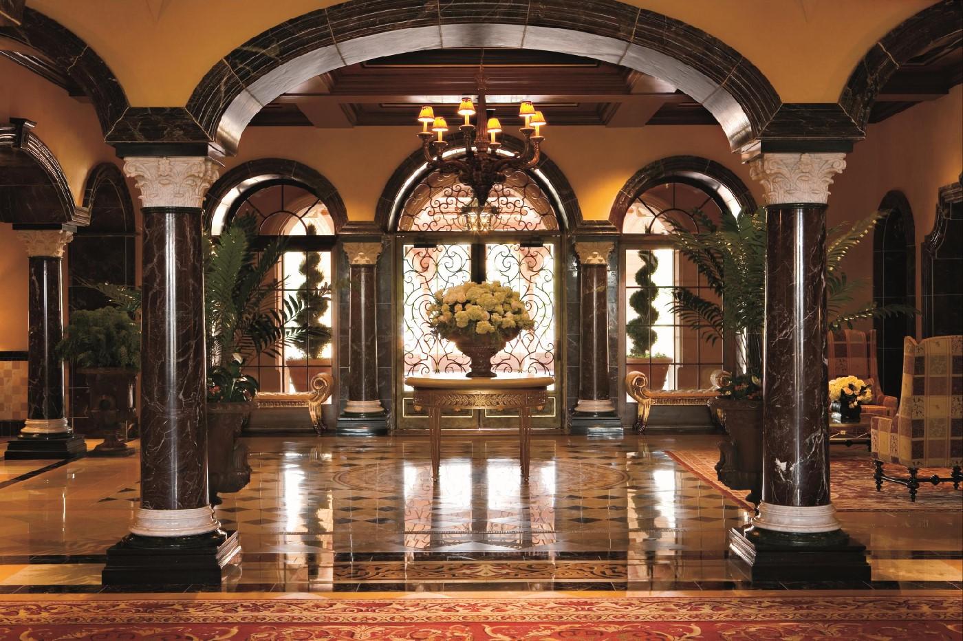 Grand Del Mar Lobby.