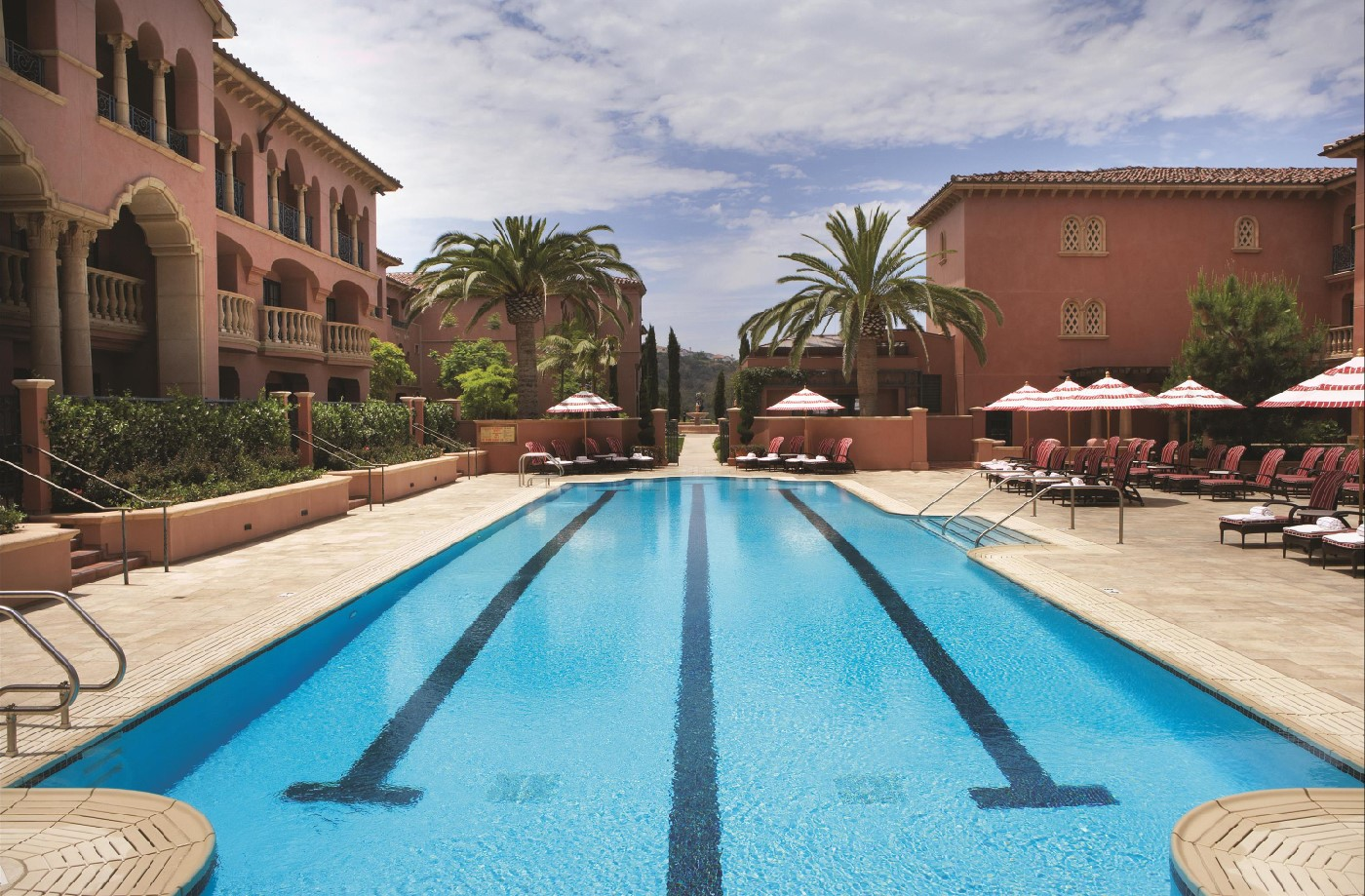 Grand Del Mar relaxation pool.