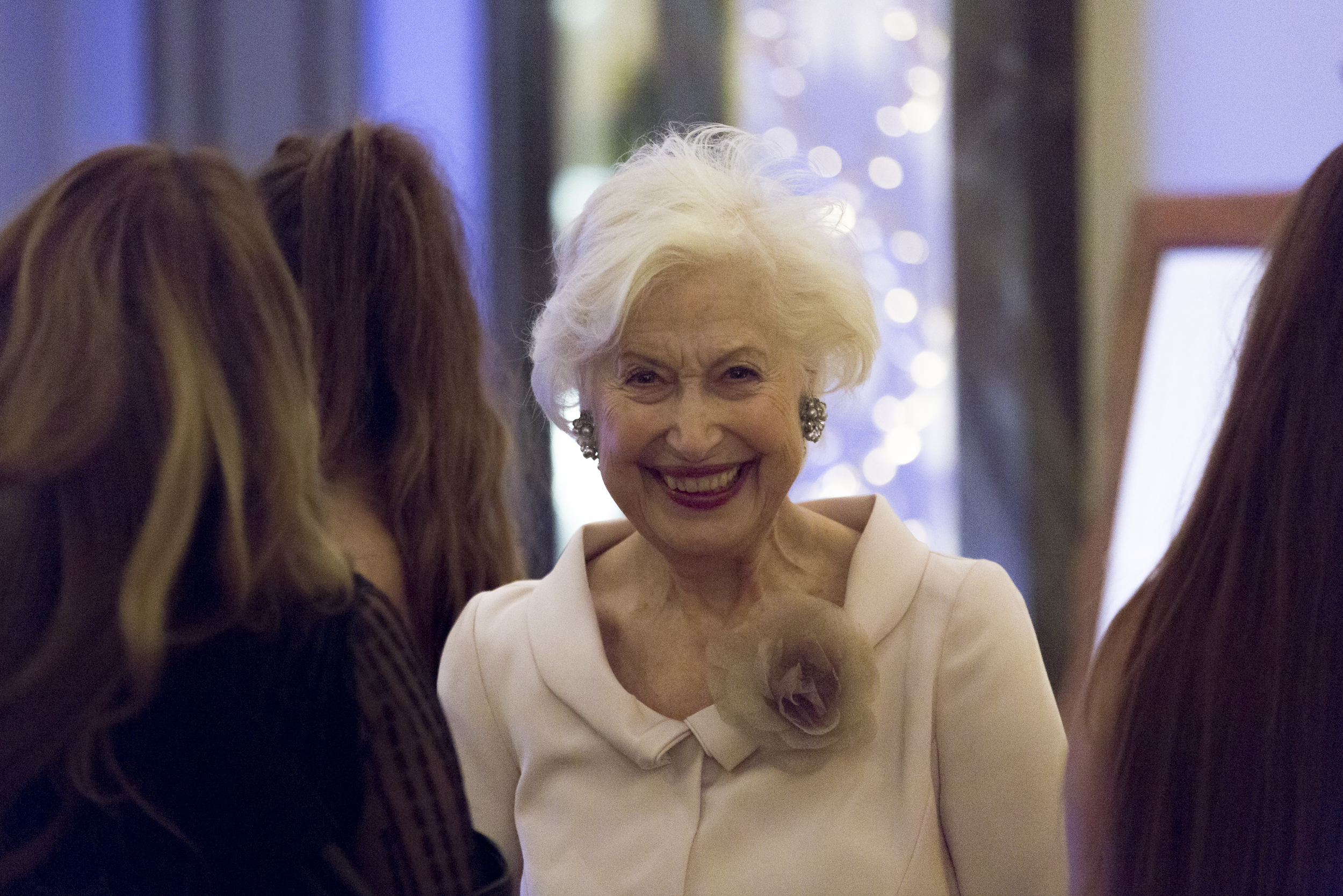Caroline at The Achiever Awards, 2017