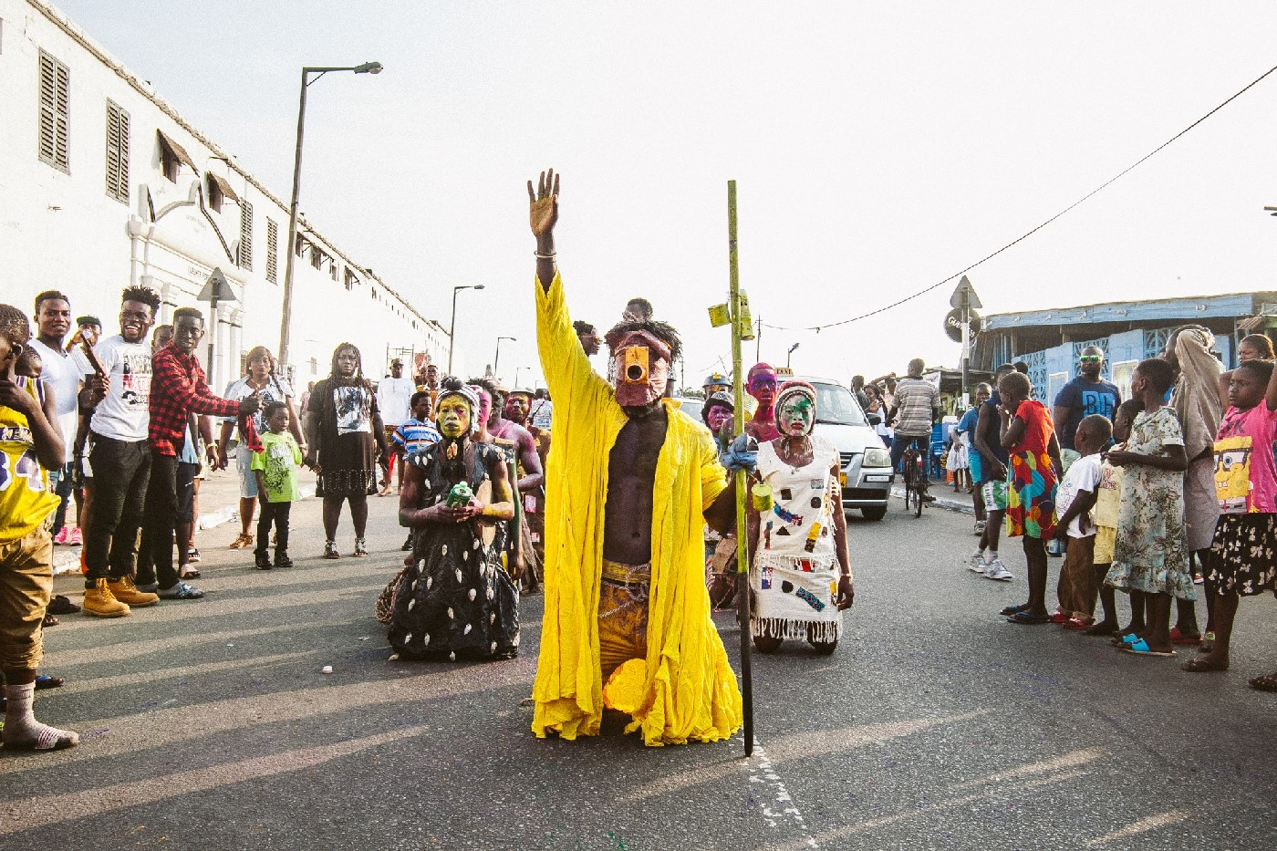 Accra Chale Wote 2016 performance