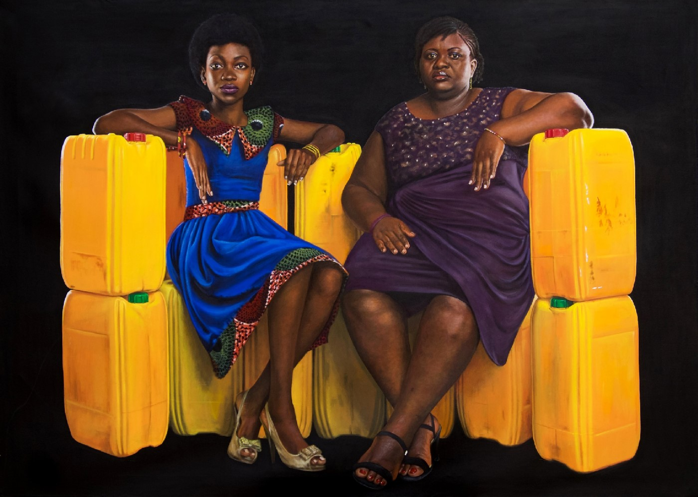Ayorkor and Adei, Yellow is the Colour of Water, 2016