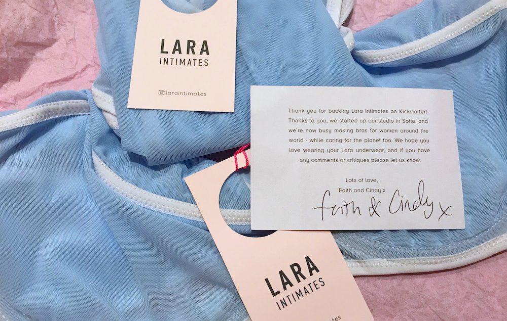 Lara Intimates Kickstarter underwear set