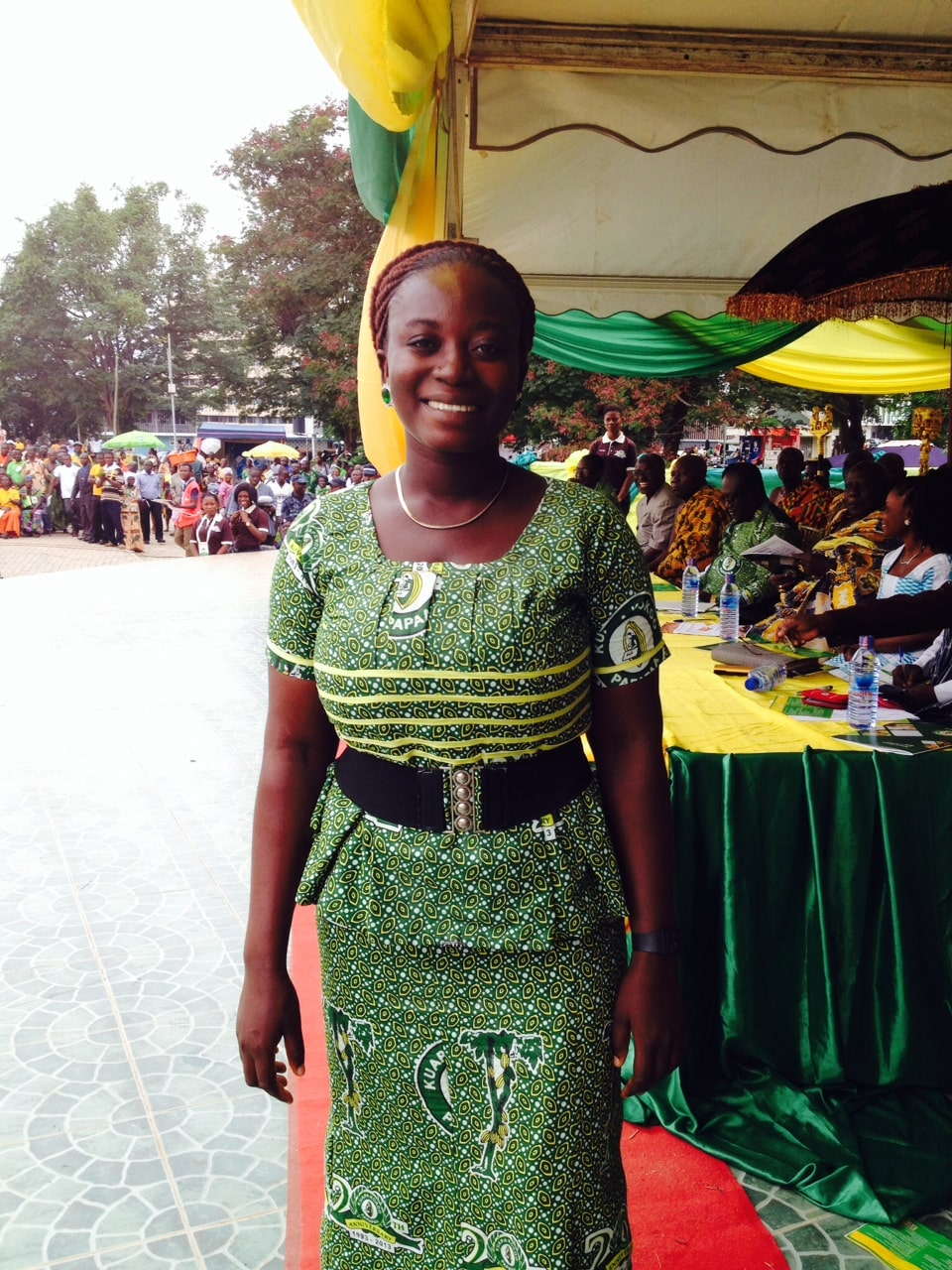 Coco farmer Esther Ephraim Mintah