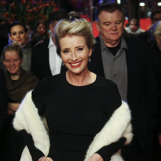 Emma Thompson attending the the 'Alone in Berlin' premiere
