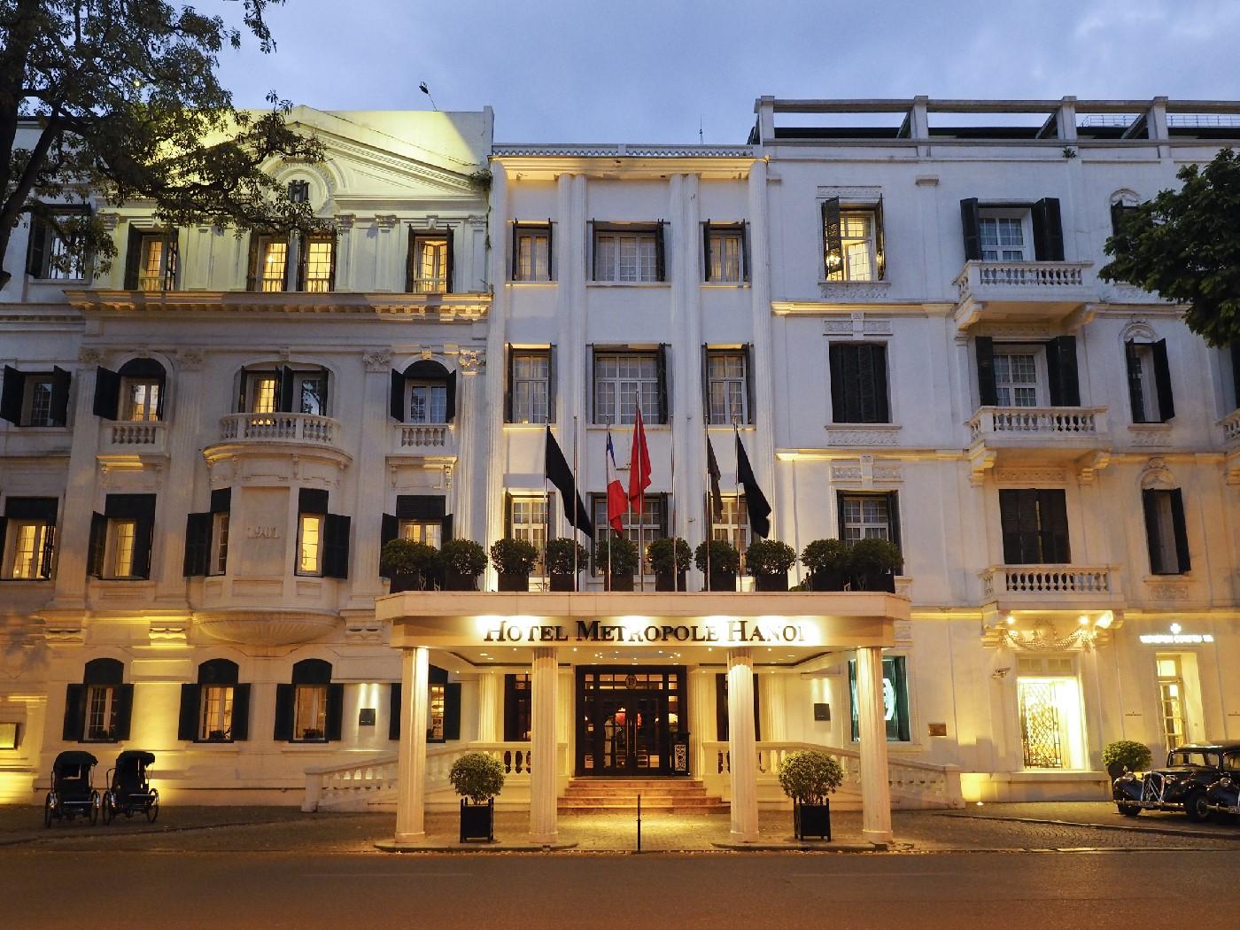 Hotel Metrpoloe Hanoi exterior
