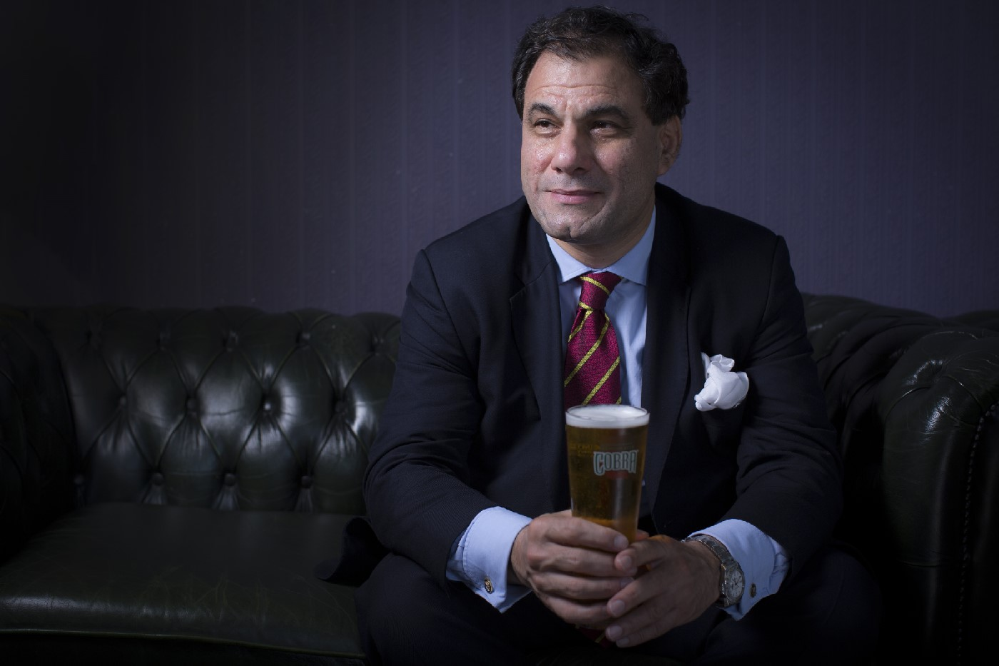 Lord Bilimoria, founder of Cobra Beer